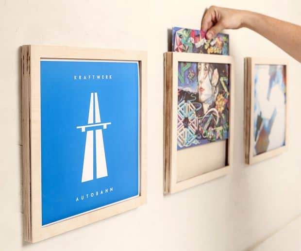 How To Make Vinyl Frames To Hang On Your Wall As Record Art