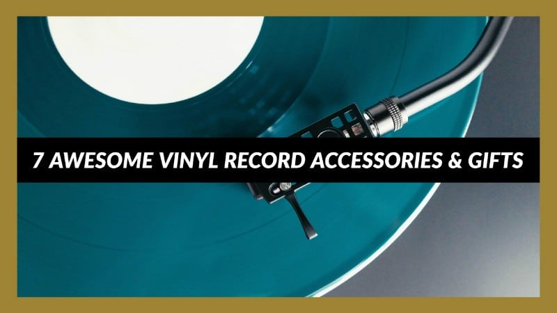 vinyl record accessories and gifts