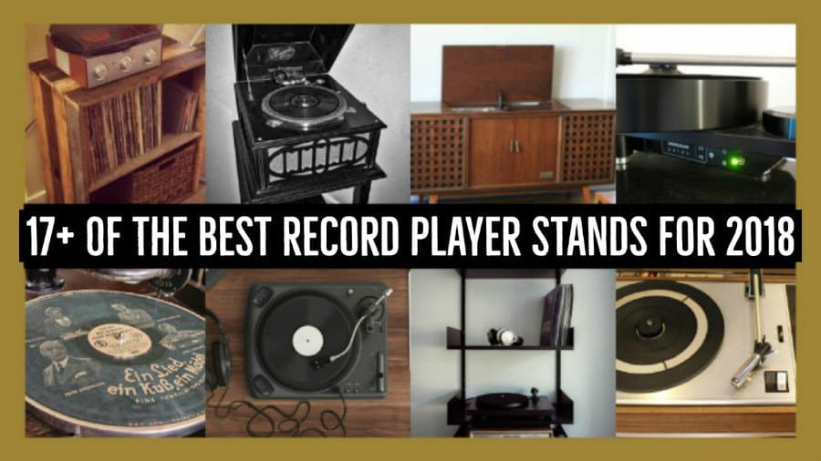 17+ Of The Best Record Player Stands, Cabinets, Consoles & Turntable Furniture For 2018
